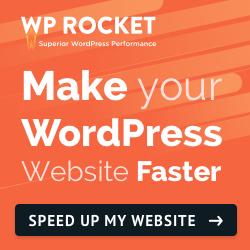 WP Rocket Orange Logo